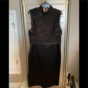 Whitehouse Blackmarket Black Shearh Dress